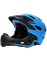 0Miaxudh Casco de niños, Casco de protección de Seguridad de Ciclismo de Equilibrio de la Bicicleta Blue