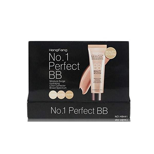 ARTIFUN BB Cream Hidratante,Crema Correctora con Color BB Cream Base de Hydrating Corrector for Flawless Skin