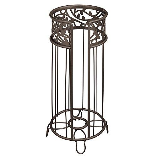 interdesign-vine-free-standing-toilet-paper-holder-for-bathroom-bronze
