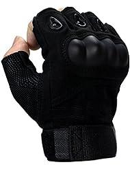 Fingerlose Handschuhe, Coofit Fitness Handschuhe Sporthandschuhe Herren Handschuhe Motorrad Handschuhe Tactical Gloves