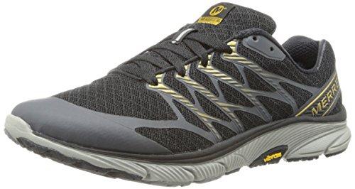 MERRELL Bare Access Ultra Schuhe Herren Sportschuhe Laufschuhe Grau J01653 Black / Gold