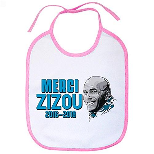Babero Merci Zizou ZZ - Rosa