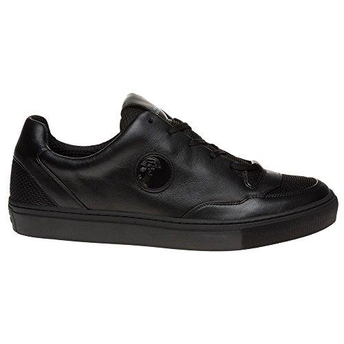 Versace Collection New Low-Top Homme Baskets Mode Noir Noir
