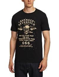 Avenged Sevenfold Men's Seize The Day Short Sleeve T-Shirt