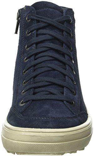 Legero Mira, Sneaker Basse Donna Blu (Niagara 84)