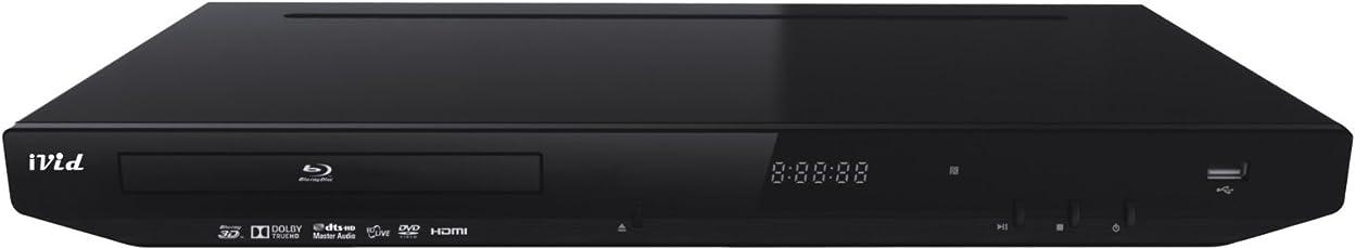 iVid Icom BD780 3D Multi Region-free Blu Ray DVD Player