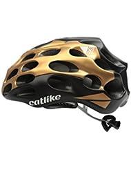 Catlike Mixino Casco de Ciclismo, Unisex Adulto, Oro/Negro Mate, MD (
