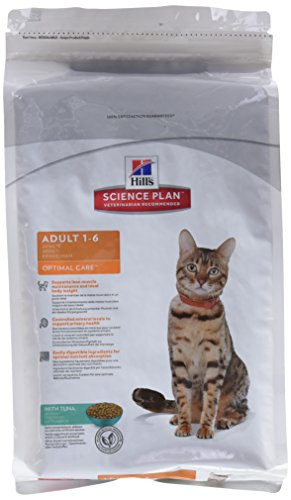 Hills Science Plan Gatto Adult Optimal Care Gusto tonno mangime Secco kg. 2