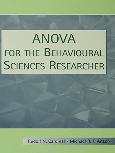 ANOVA for the Behavioral Sciences Researcher (English Edition)