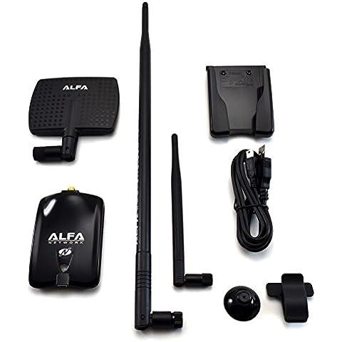 Alfa AWUS036NHA USB Adapter Atheros AR9271 7dBi Antenna + 9dBi Antenna + U-Mount