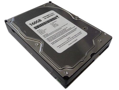 Ide Ultra Ata-100 Festplatte (White Label, 160GB 8MB Cache 7.200RPM Ultra ATA/100(PATA) 8,9cm IDE Desktop Festplatte W/1Jahr Garantie)