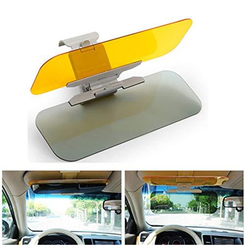 Auto-Sonnenblendeverlängerung Tag und Nacht Blendschutz - Zone Tech Premium-Qualität Universal-Sonnenschutz und Nachtsicht Blendschutzwindschutzscheibe UV-Licht