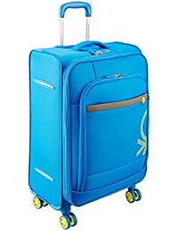 UCB Polyester 69 cms Blue Suitcase (0IP6SPO24P01I)