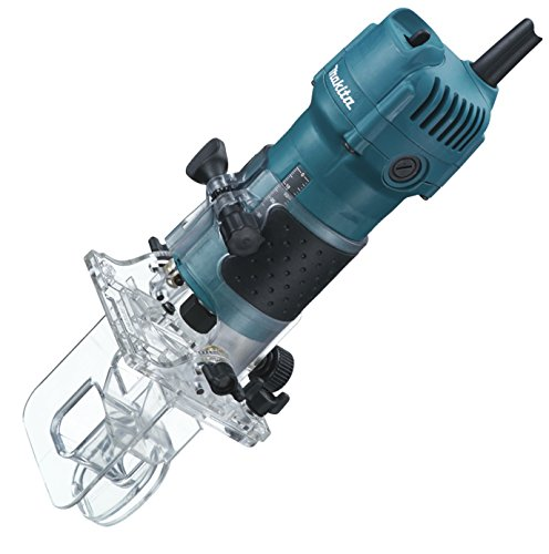 MAKITA 3710 - FRESADORA DE CANTOS INCLINABLE 530W 30000 RPM PINZA 6 MM 1 6 KG