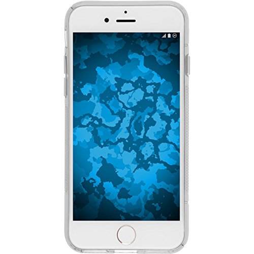 PhoneNatic Custodia Apple iPhone 8 Cover trasparente S-Style iPhone 8 in silicone Case Trasparente