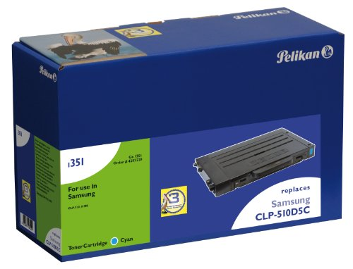 Preisvergleich Produktbild Pelikan Toner-Modul 1189c ersetzt Samsung CLP-510D5C, Cyan, 5000 Seiten