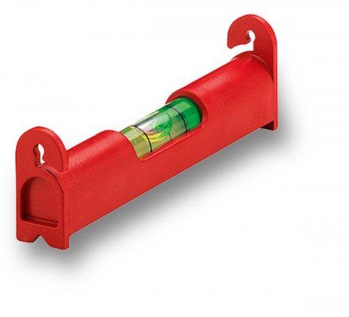 Sola UZ 8 Kunststoff-Wasserwaage 8 cm - Messwerkzeug zum Messen und Markieren - Kompakt, leicht und handlich - Bruchfeste Acrylglas-Röhrenlibellen