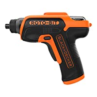 Black and Decker 3.6V Bit Storage Screwdriver with 8 bits in Tinbox - CS36BSCROTO-B5