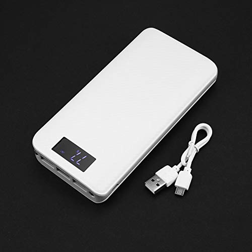 HibiscusElla Power Bank 300000mAh External Battery Pack Power Bank Portable Charger with LED Digital Display 3 USB Port -