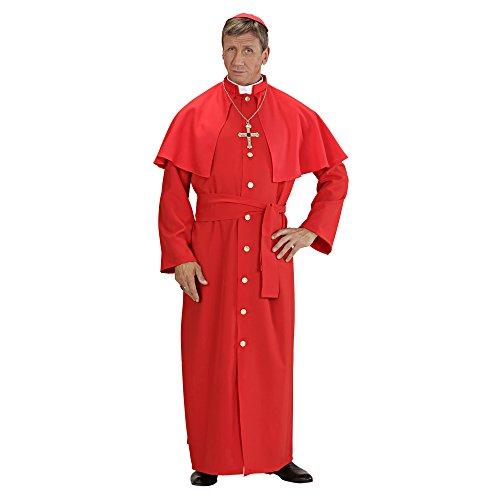 Widmann 57713 - Erwachsenenkostüm Kardinal für Herren, Größe L