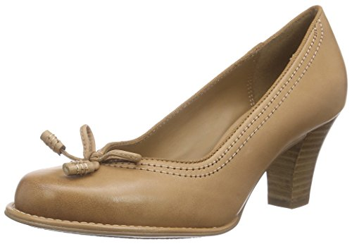 Clarks Bombay Lights Damen Pumps Beige (Beige Leather)