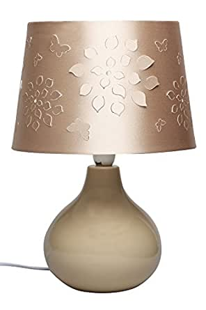 IVY - Ceramic Table Lamp - Champagne