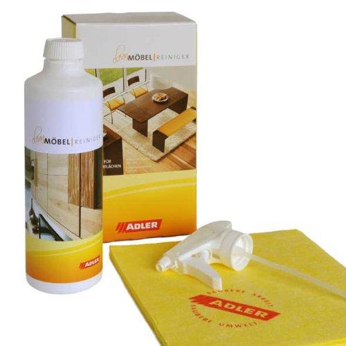 Pflegeset Clean-Parkettreiniger u. Pflege - Set Reiniger + Pflegemittel für Parkett (Holz Reiniger Laminat Boden Und)