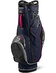 Sun Mountain S1 Sac de Golf Mixte Adulte, Gris/Noir/Rose