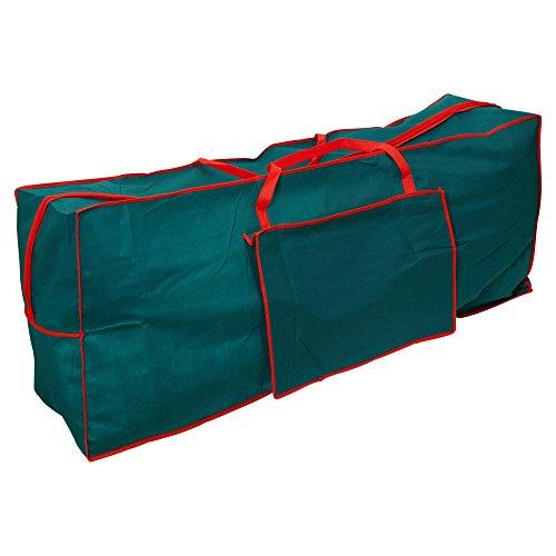 Urbn Living Borsa portaoggetti per albero di Natale, Verde, Large Bag