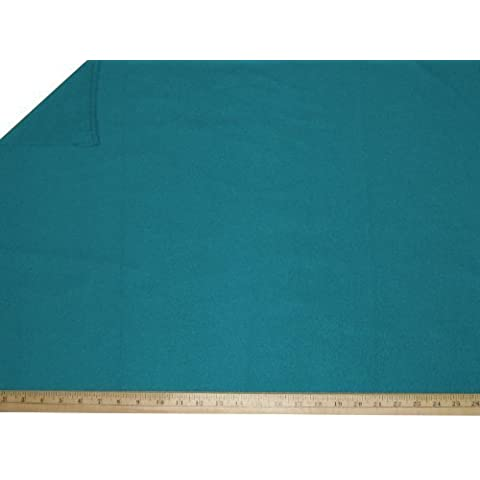 60-Inch Wide Polar Fleece Fabric By The Yard, Turquoise. by Fleece