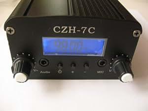 1w/ 7w FM Stereo PLL Transmitter Radio Broadcast Station//1W / 7w stéréo Transmetteur FM PLL Radio station de radiodiffusion