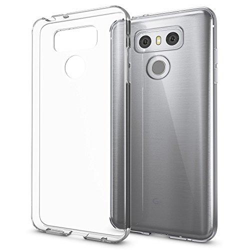 NALIA Handyhülle kompatibel mit LG G6, Ultra-Slim Soft TPU Silikon Case Cover, Crystal Clear Schutzhülle Dünn Durchsichtig, Etui Handy-Tasche Backcover Bumper Skin Smart-Phone Hülle - Transparent
