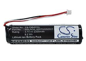 Batterie pour TomTom Urban Rider Pro, 3.7V, 2200mAh, Li-ion