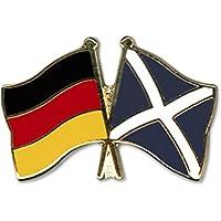 Aufn/äher Patch Schottland Royal Fahne Flagge FLAGGENMAE/®