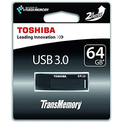 Toshiba TransMemory 64GB - Pen Drive 64 Gb 3.0 Negro