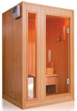 traditionelle finnische sauna zen fuer 2 personen