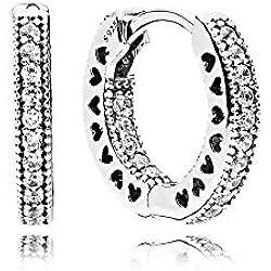 Pandora Pendientes de aro Mujer plata - 296317CZ