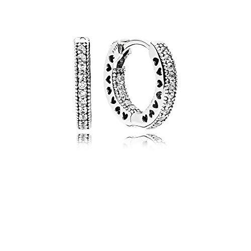 Pandora Unendliche Herzen Kreolen 296317CZ