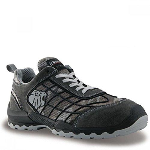 Chaussures de sécurité camouflage gris Mimetic S1P SRC Gris