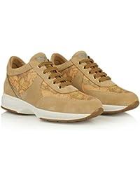 ALVIERO Martini 1°Classe Geo Crossing Z9810 551B Sneakers Scarpe Donna  Natural c6789e9b948
