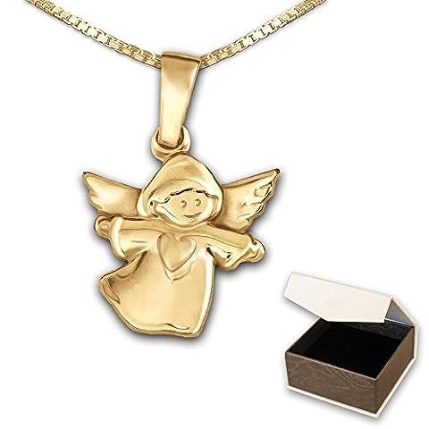 CLEVER sCHMUCK pendentif en forme de petit ange avec cœur