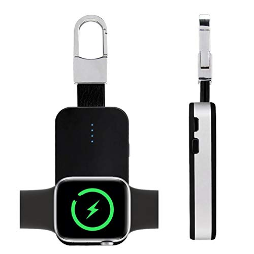 WXGY Portable Keychain Drahtloses magnetisches Ladegerät Telefon-Uhr-Ladegerät In Power Bank für iWatch iPhone gebaut - Power-keychain
