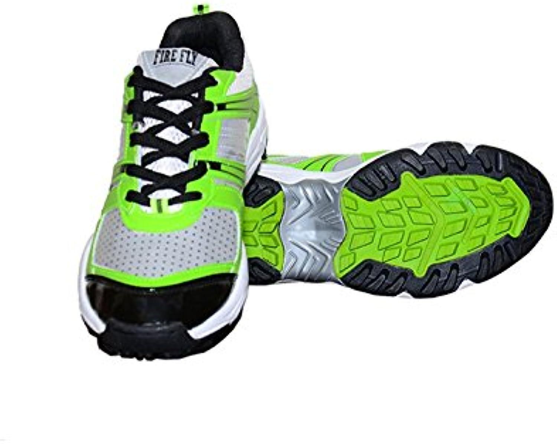 3M Zapatillas de Críquet Para Hombre Verde Verde  -