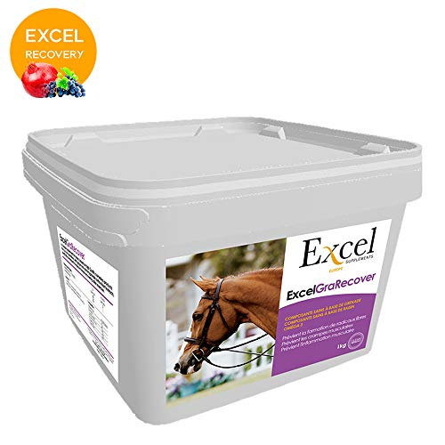 Excel Supplements Europe Excel GraRecover - Integratori per Capelli, Recupero Muscolare, antiossidanti, polifenoli