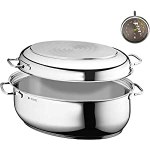 WMF Extra Roasting Dish with Metal Lid