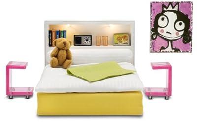 Lundby 60.9024.00 Stockholm - Dormitorio para casita de muñecas por Lundby