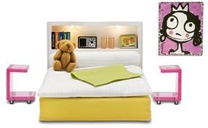 Lundby 60.9024.00 Stockholm - Dormitorio para casita de muñecas