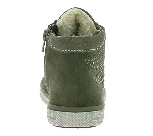Lurchi Swing-Tex Mädchen Hohe Sneakers Braun