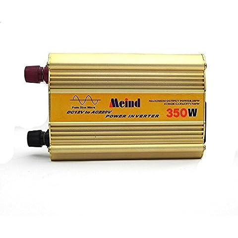 Onda sinusoidal pura inversor de potencia 350W pico de 800W DC 12V a la CA 220V 230V 240V convertidor
