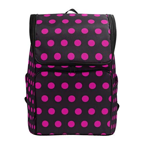 Ahomy Schulranzen Polka Dot Wanderrucksack Cool Sport Rucksack Laptop Tasche Leichter Schulrucksack für Teenager Mädchen Jungen -